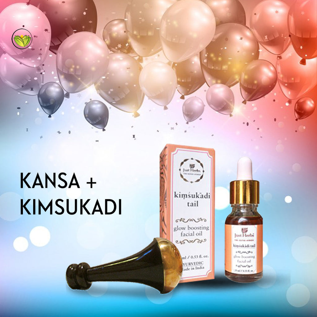 Kansa Face and Body Wand + FREE Kimsukadi Oil