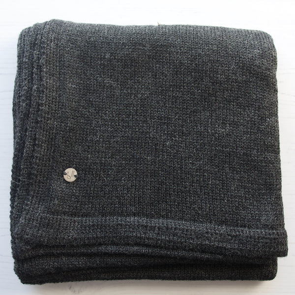 Alliyma baby alpaca wrap - bluellamashop