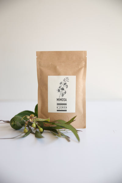 Frankincense & Lemon Bath Soak 125gm sachet