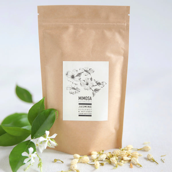 Jasmine, Bergamot  & Vetivert  Bath Soak 250gm