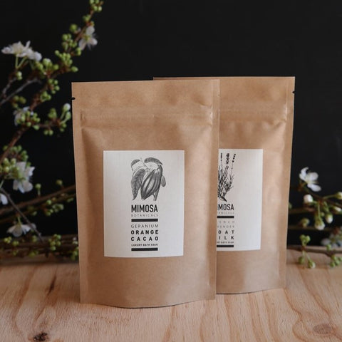 Geranium, Orange & Cacao Bath Soak 125gm Sachet