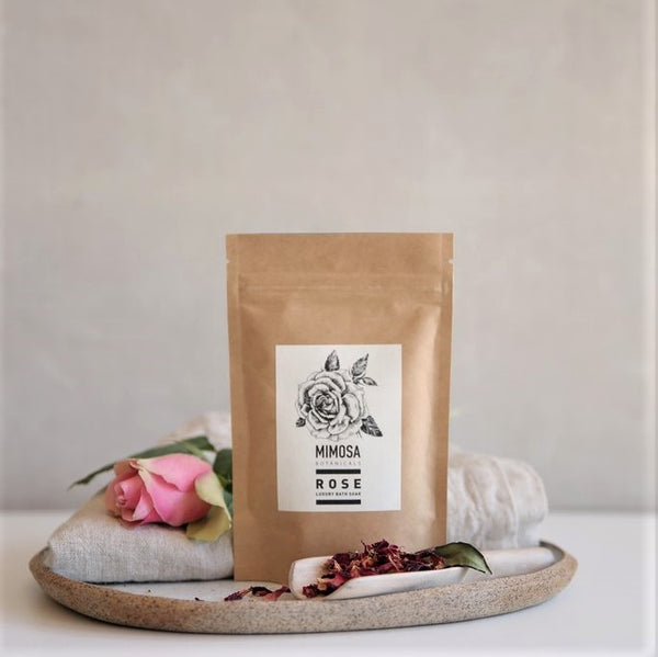 Rose Bath Soak 125gm sachet