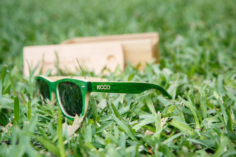 bd588544bad WOODIES X KCCO LIMITED EDITION GREEN BAMBOO SUNGLASSES – Kinh mat ...