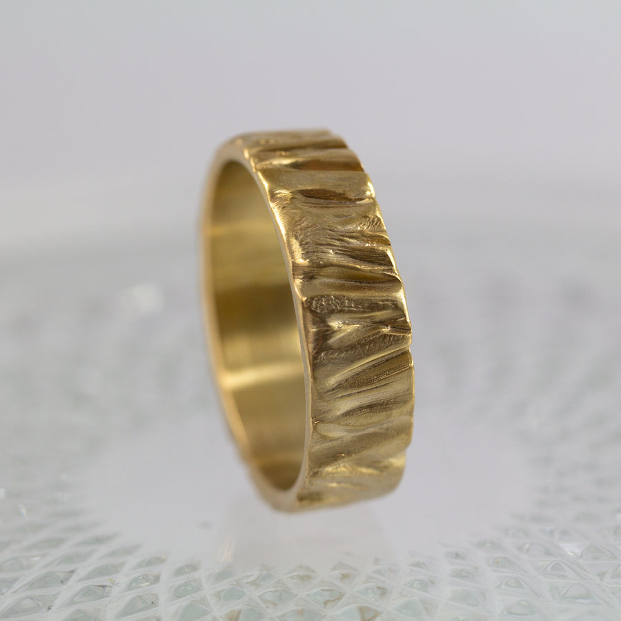 Alon Tree Branch Wedding Band, Anvehu Jewelry