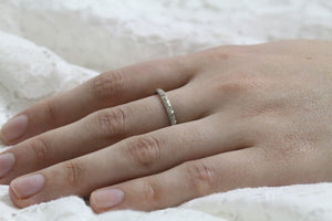 2mm Minimalist Wedding Ring