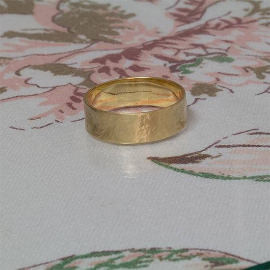 7mm Men's wedding band