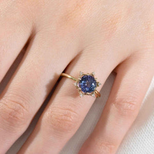 Maya 2.1 CT Tanzanite ring