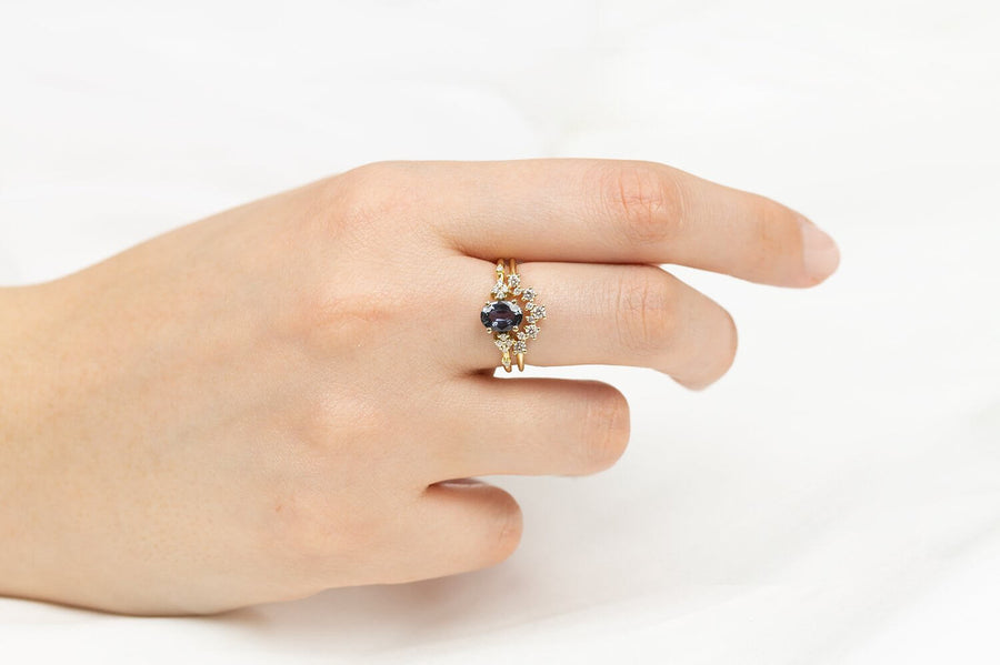 Maayan Engagement Ring Set