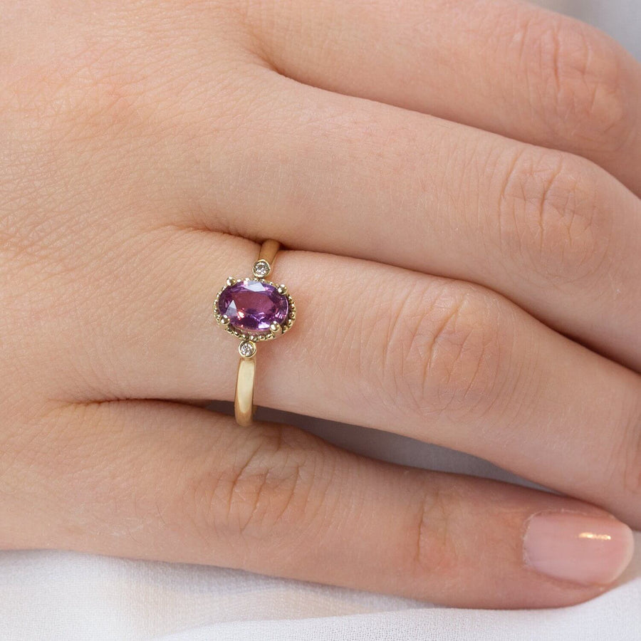 Sigal Pink Sapphire Ring