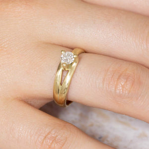Mali 2- Solitaire Ring