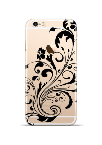 Absrtact Pattern Transparent Apple iPhone 6/6s Case