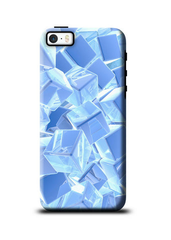 3D Polygon Apple iPhone SE Tough Case