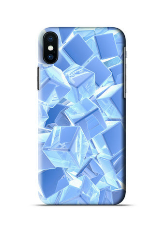 3D Polygon Apple iPhone X Case
