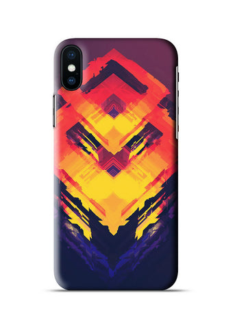 Abstract Apple iPhone X Case