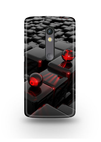3D Polygon Moto X Play Case