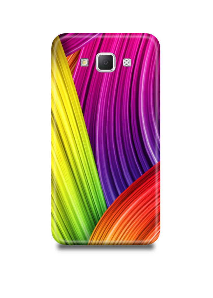 Colorful Lines Samsung A7 Case