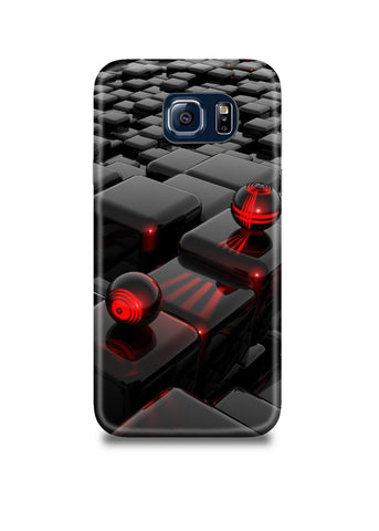 3D Polygon Samsung S7 Case