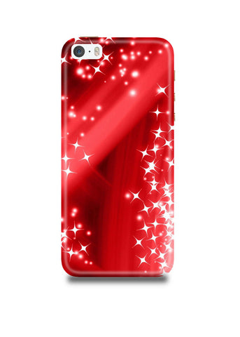 Red Sparkle iPhone5/5s Case