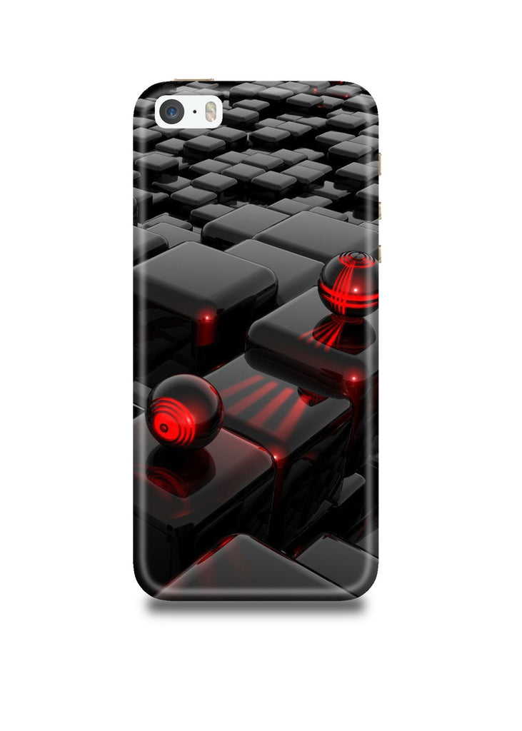 3D Polygon iPhone SE Case