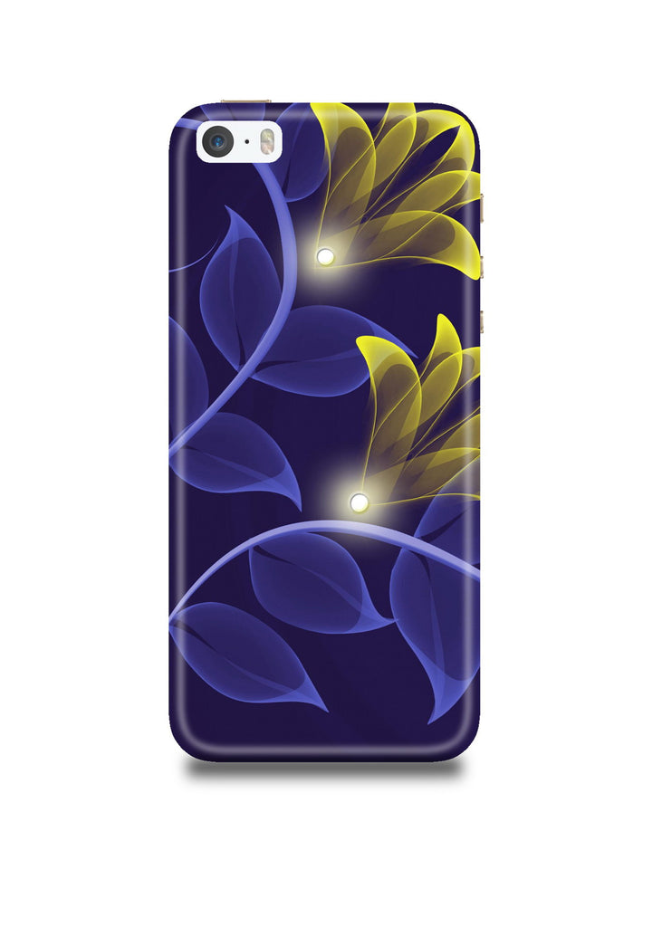 Abstract Flower iPhone SE Case