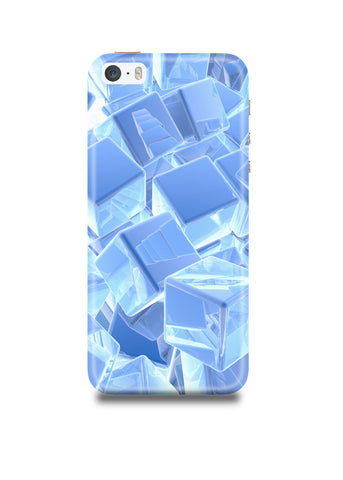 3D Cubes iPhone SE Case