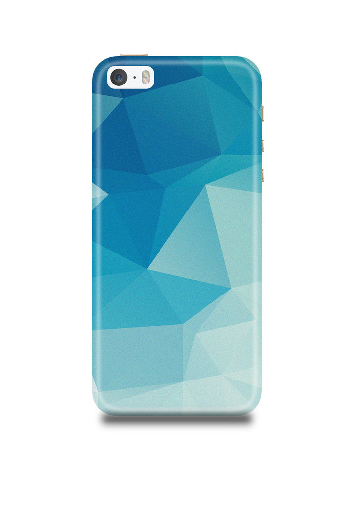 Blue Polygon iPhone5/5s Case