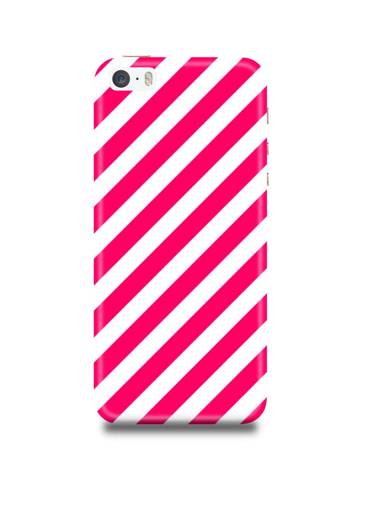 Pink Stripes iPhone5/5s Case