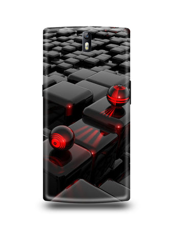 3D Polygon Oneplus One Case