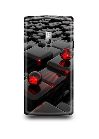 3D Polygon Oneplus Two Case