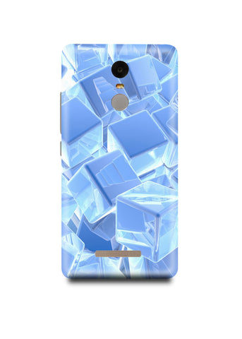 3D Cubes Xiaomi Note 3 Case