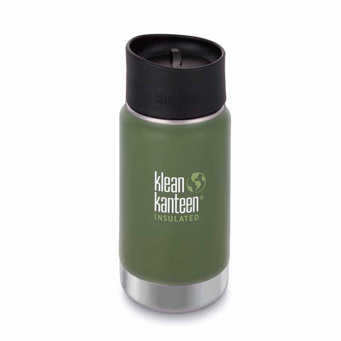 KLEAN KANTEEN WATER BOTTLE SHALE BLACK