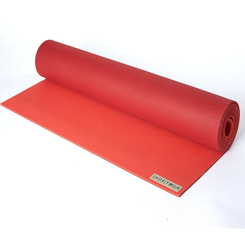 JADE HARMONY TWO TONES YOGA MAT - CHILI PEPPER RED / SEDONA RED