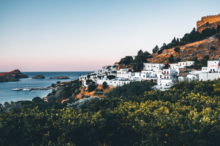 VACAY GUIDE: RHODES WITH ELLE MAINAS