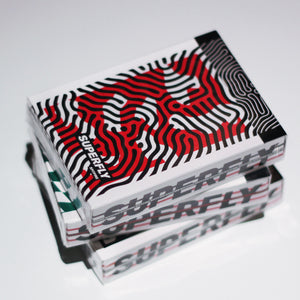 Superfly 3 decks bundle (Superfly Royale Green, Superfly Spitfire Red, Superfly Dazzle)