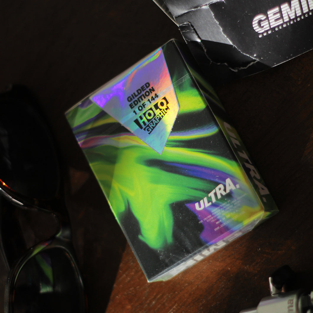 Ultra Green Holographic Gilding
