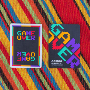 Game Over Playing Cards