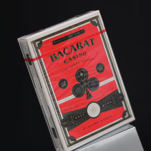 Load image into Gallery viewer, Bacarat Casino Red with numbered seal