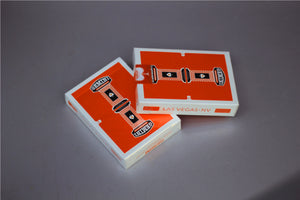 Gemini Casino Orange Playing Cards