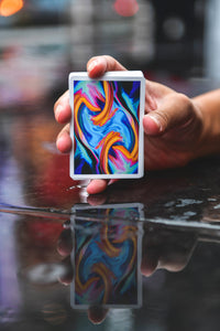 Ultra Blue Playing Cards
