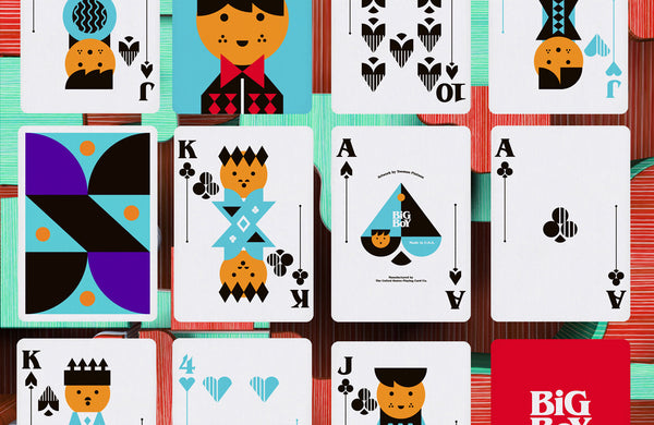 Big Boy No.1 Playing Cards