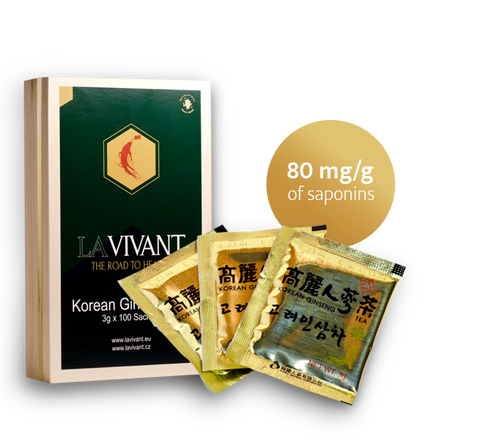 Korean Ginseng Tea - Premium Quality - Lavivant