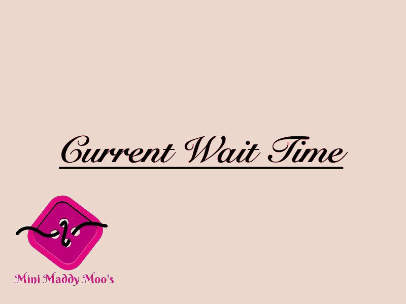 Current Wait time