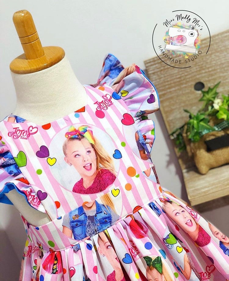 JoJo Siwa Polly Pinafore - Mini Maddy Moo's
