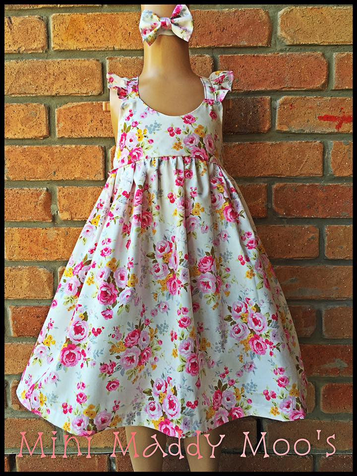 Hope Fairy Dress - Mini Maddy Moo's