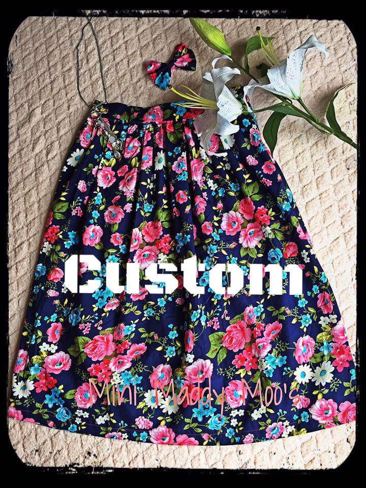 Custom - Mummy Skirt - Mini Maddy Moo's