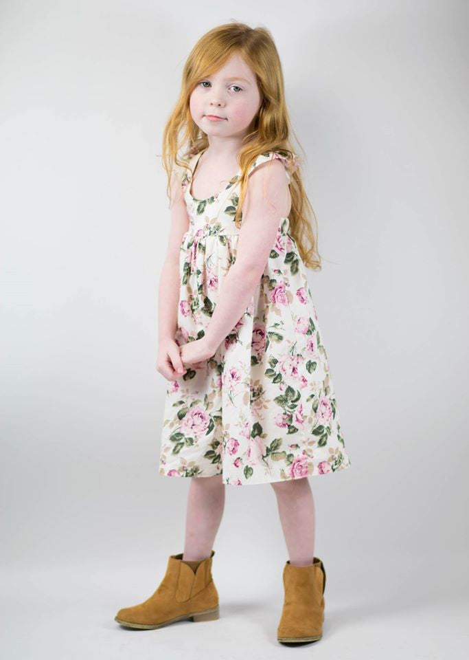 Vintage Rose Fairy Dress - Mini Maddy Moo's