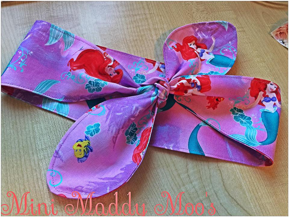 Custom - Headwrap - Mini Maddy Moo's