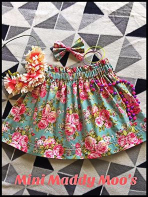 Custom - Souffle Skirt - Mini Maddy Moo's
