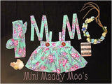 Darla Suspender Skirt - Mini Maddy Moo's