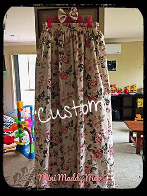 Custom - Maxi Skirt - Mini Maddy Moo's